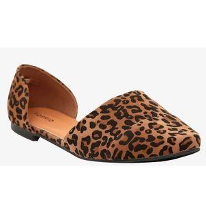 "TORRID ""Crayzee"" Leopard D'orsay Flats"